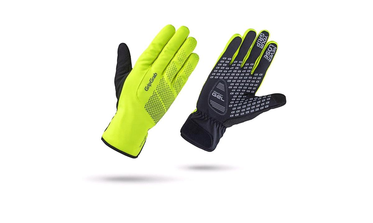 GripGrab handske waterproof winter glove Hi-Vis str. M