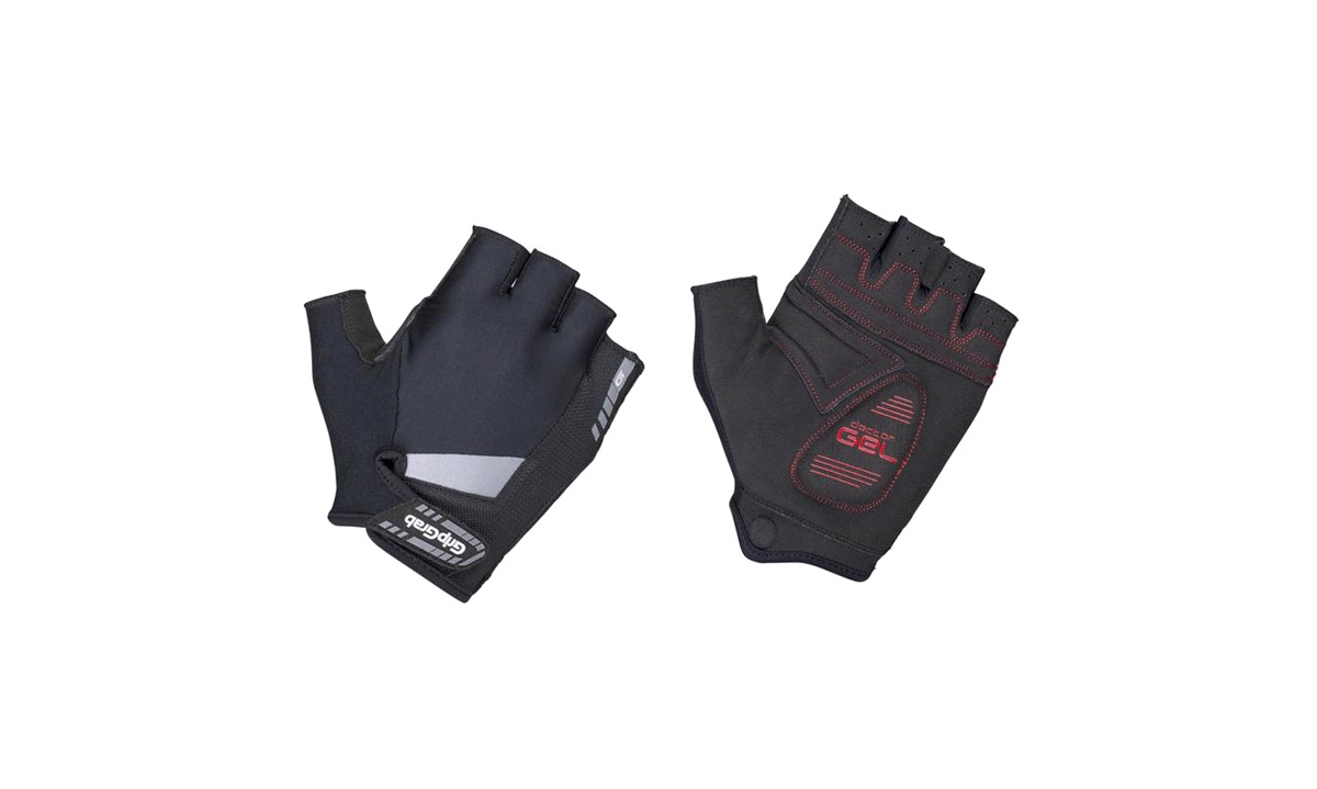 GripGrab handske kort supergel padded sort str. L
