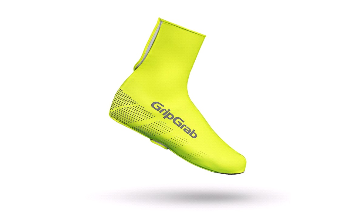 GripGrab skoovertræk Ride waterproof Hi-Vis shoe cover str. XXL