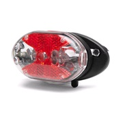 Baklykt til bagasjebærer blink/fast lys