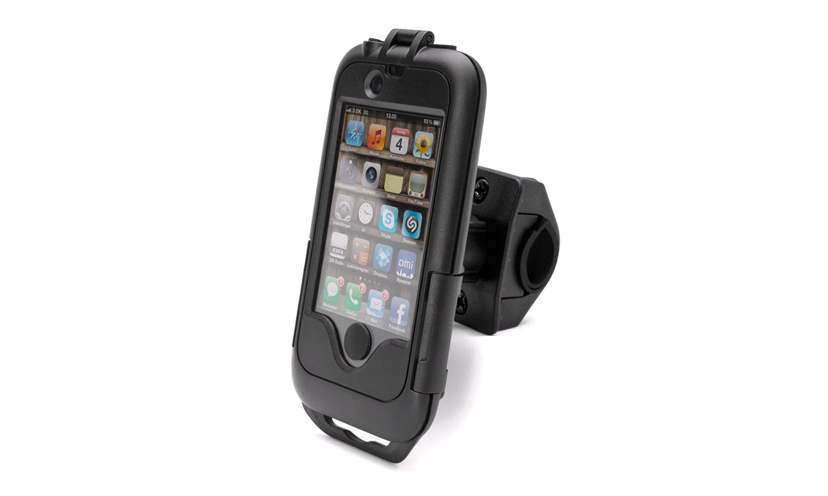 Iphone 3GS/4/4s cover med cykelbeslag