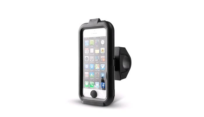 Iphone 5/5S cover med cykelbeslag - Cykelholdere til mobiltelefoner - thansen.dk