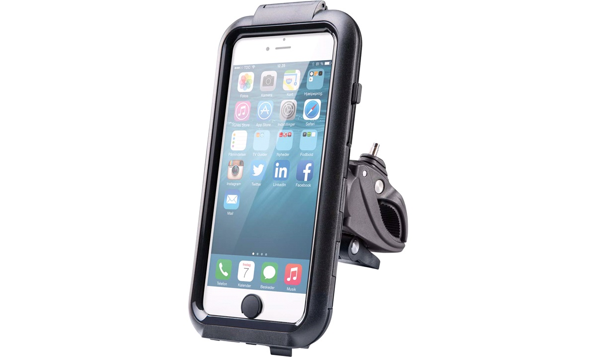Iphone 6 plus cover med cykelbeslag