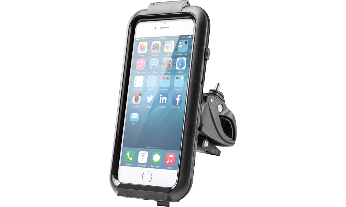 iPhone 6+/7+/8+ cover med cykelbeslag