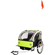 Cykeltrailer 2 pers. med fodbremse