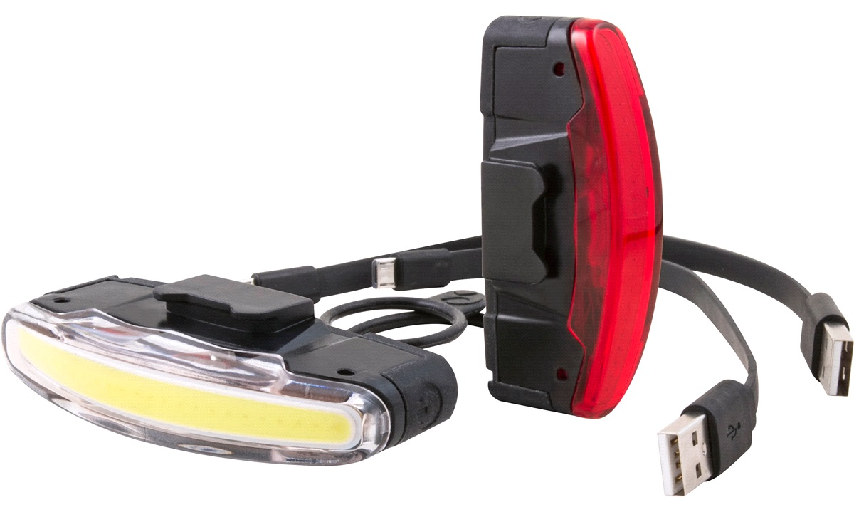 Spanninga lyktesett Arco USB oppladbart