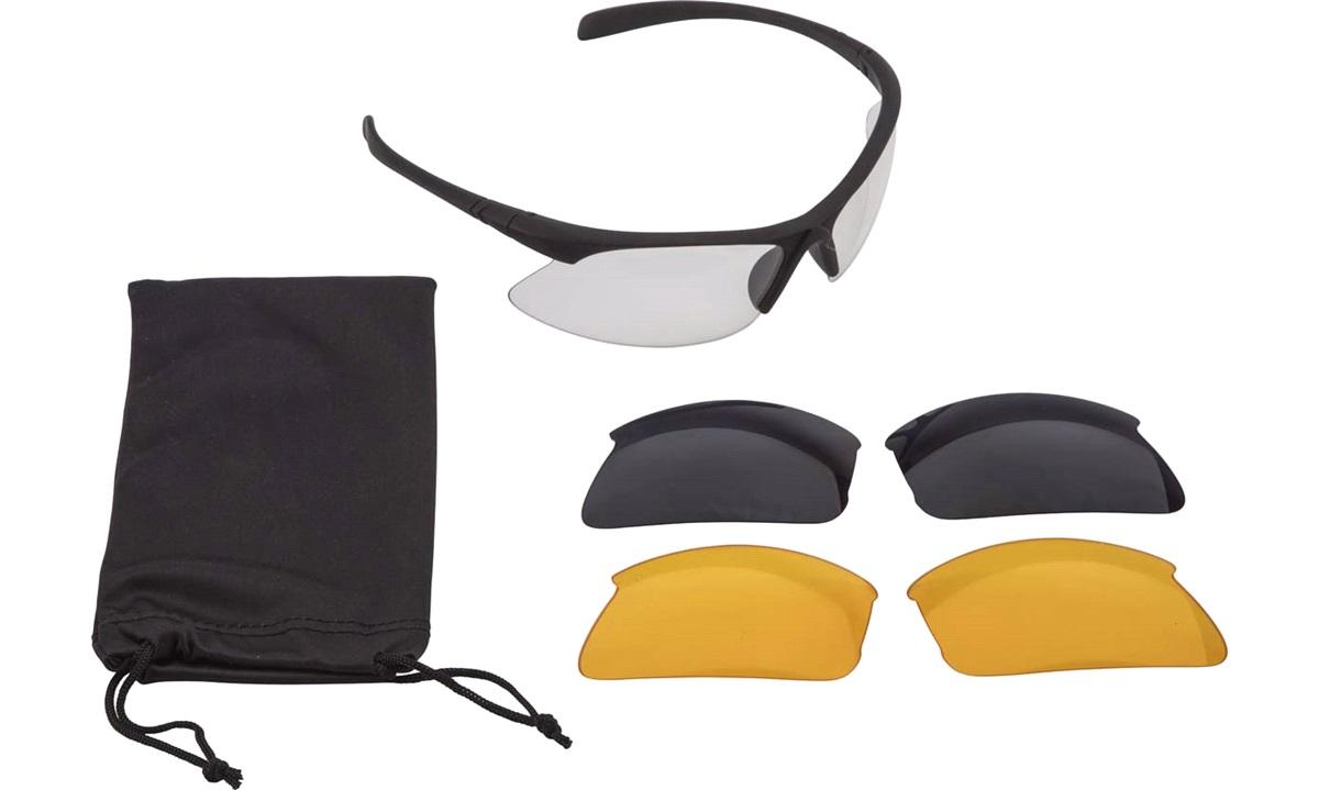 Sportsbrille inkl. 3 udskiftelige glas