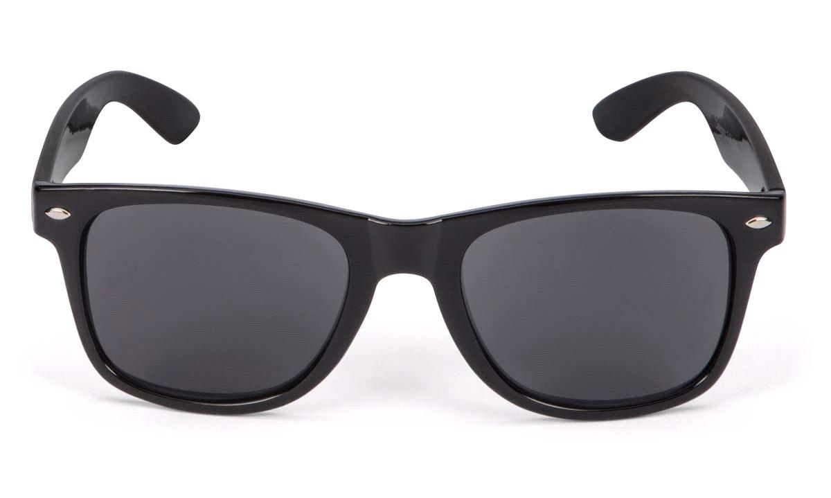 Solbrille Wayfarer sort