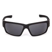 Solbriller sport matt sort gummi