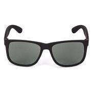 Solbriller mattsort gummi