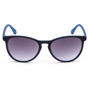Solbriller unisex sort/blå rubber finish