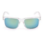 Solbriller transp. glass m/gul revospeil
