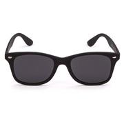 Solbriller flat Wayfarer med mørke glass
