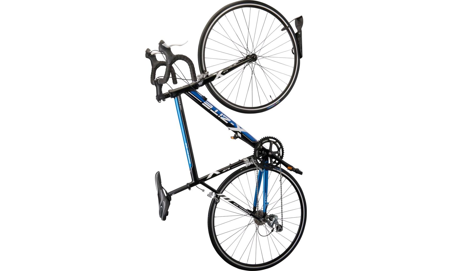 Forskellige Cykelholder til montering på væg lodret - Cykelophæng OE66