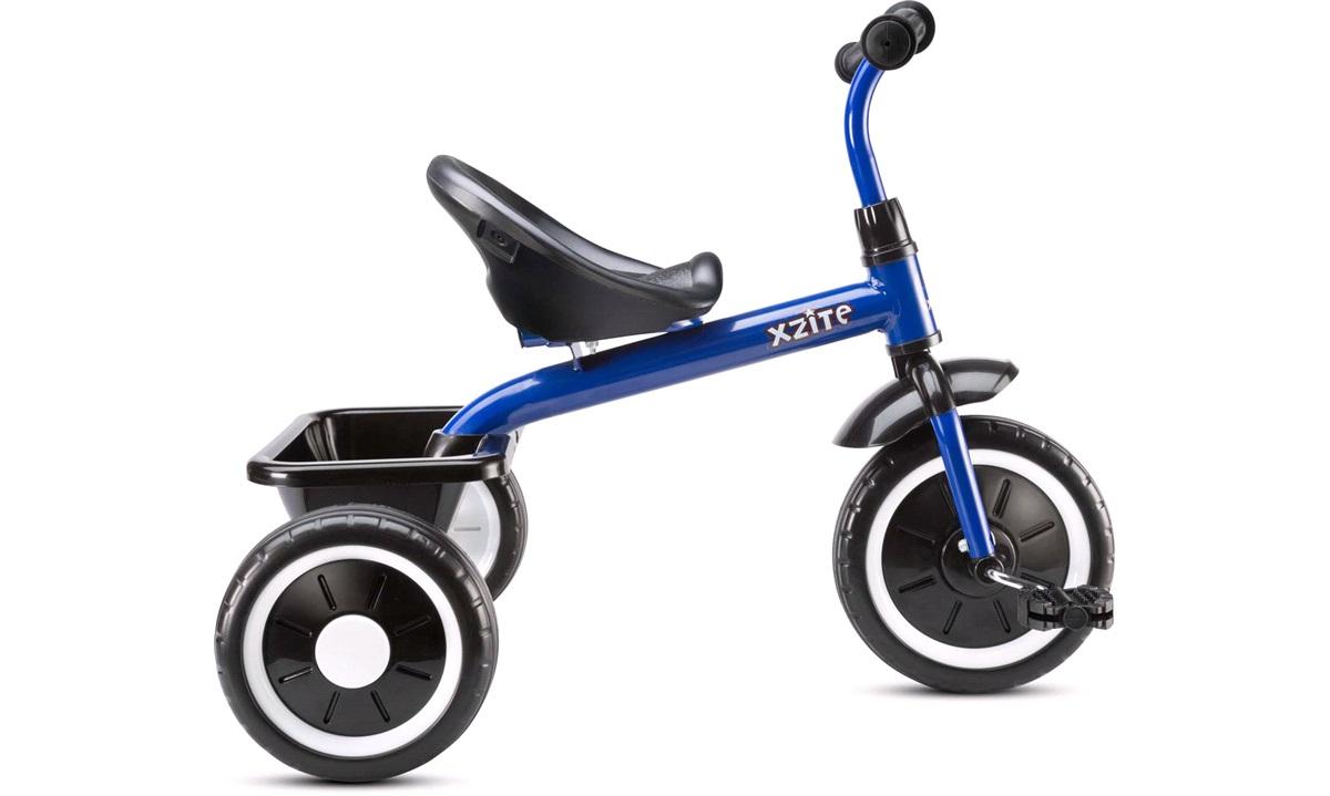 Trehjulet cykel, blå
