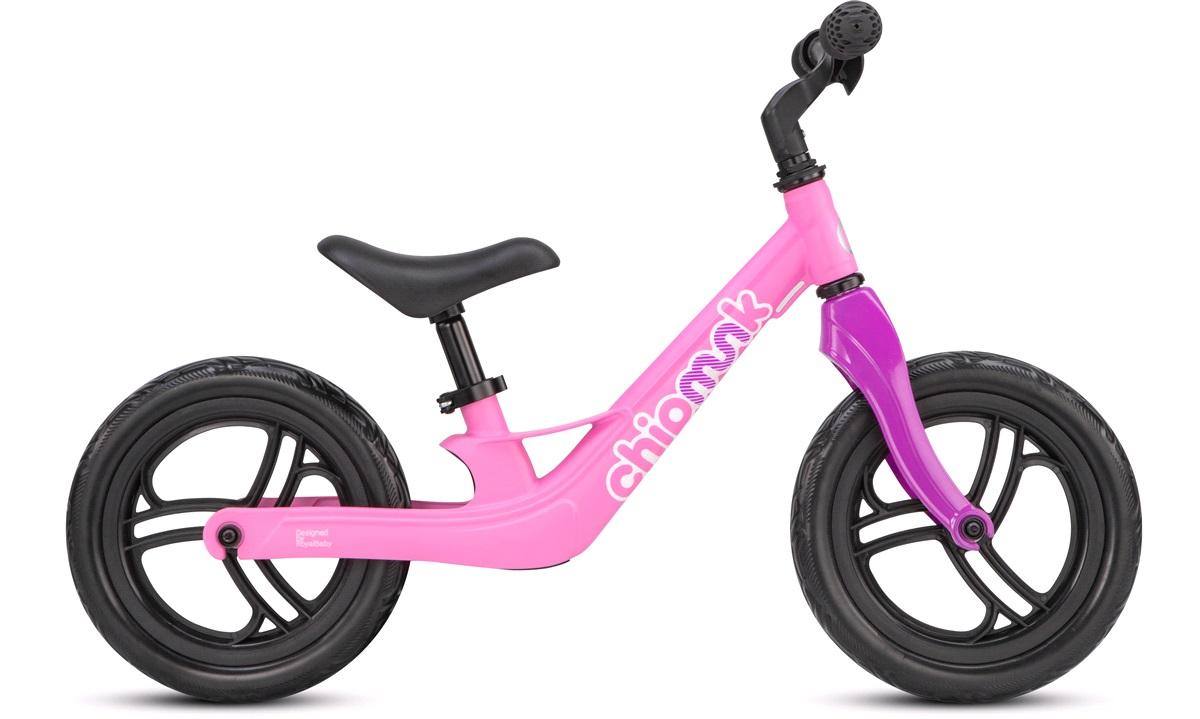 "Løbecykel 12"" Chipmunk pink/lilla"