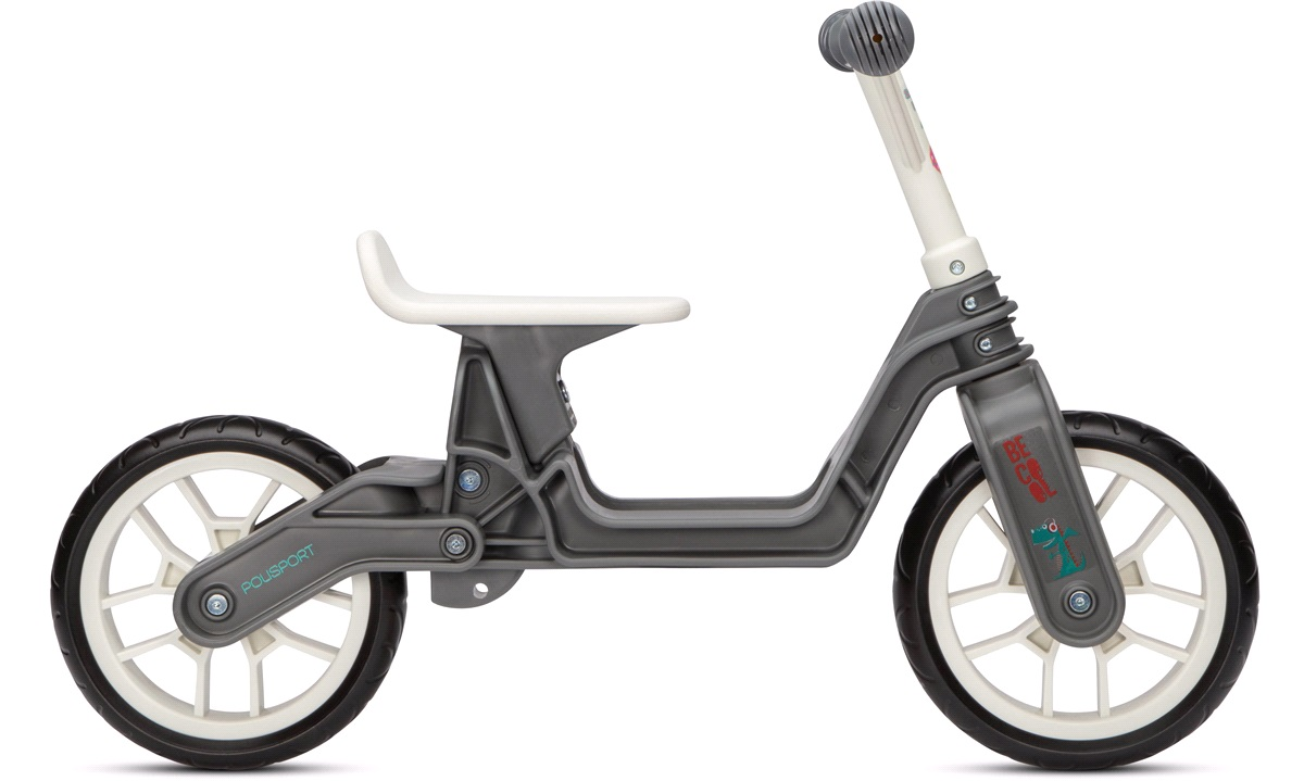 Løbecykel grey/cream 2-5 år Polisport