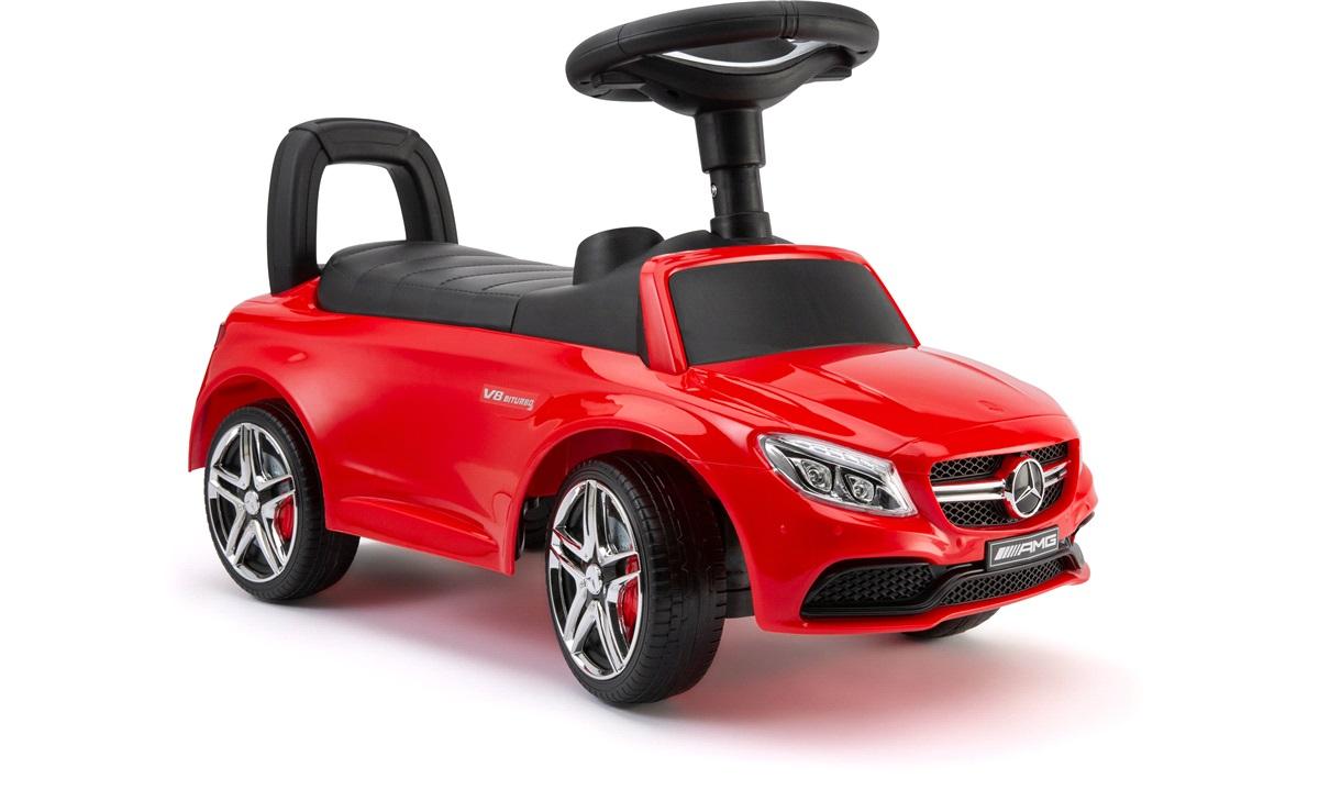 Mercedes AMG gå bil rød m/musik