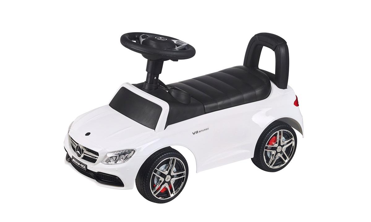 Mercedes AMG gå bil hvid m/musik