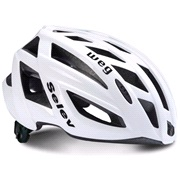 Cykelhjelm SELEV WEG hvid 58-61 cm