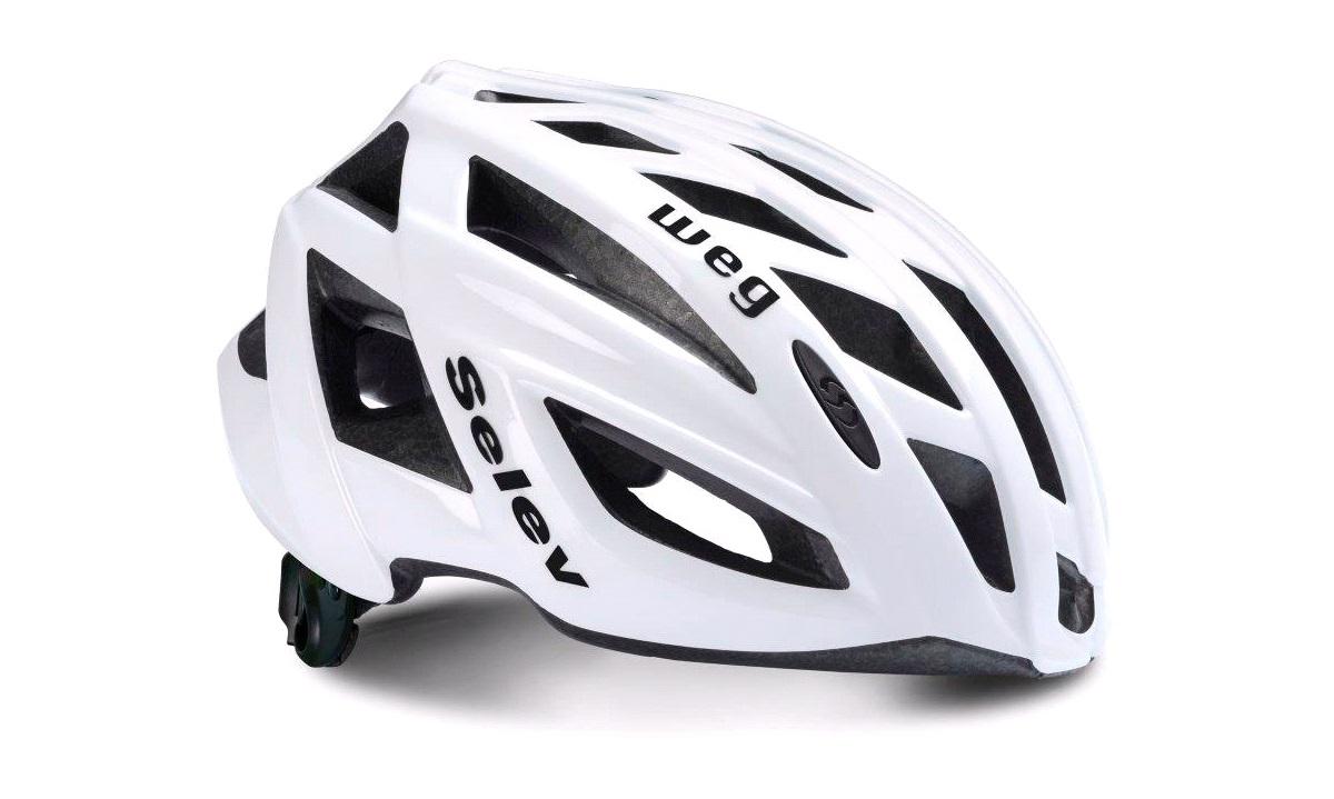 Lækker Cykelhjelm SELEV WEG hvid 54-58 cm - Selev Cykelhjelme - thansen.dk LX-88