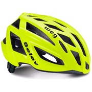 Cykelhjelm SELEV WEG flou gul 58-61 cm