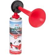 Tryklufthorn med gasbeholder