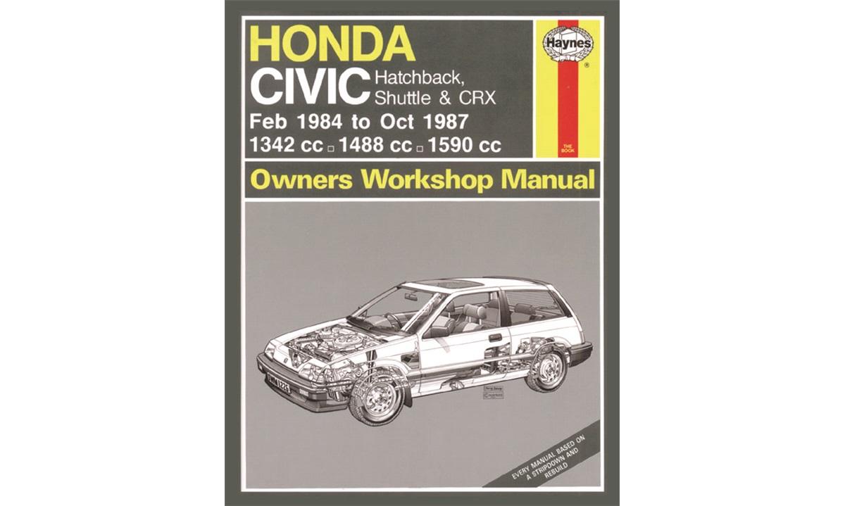 Reparasjonshåndbok Civic II 10/83-10/87