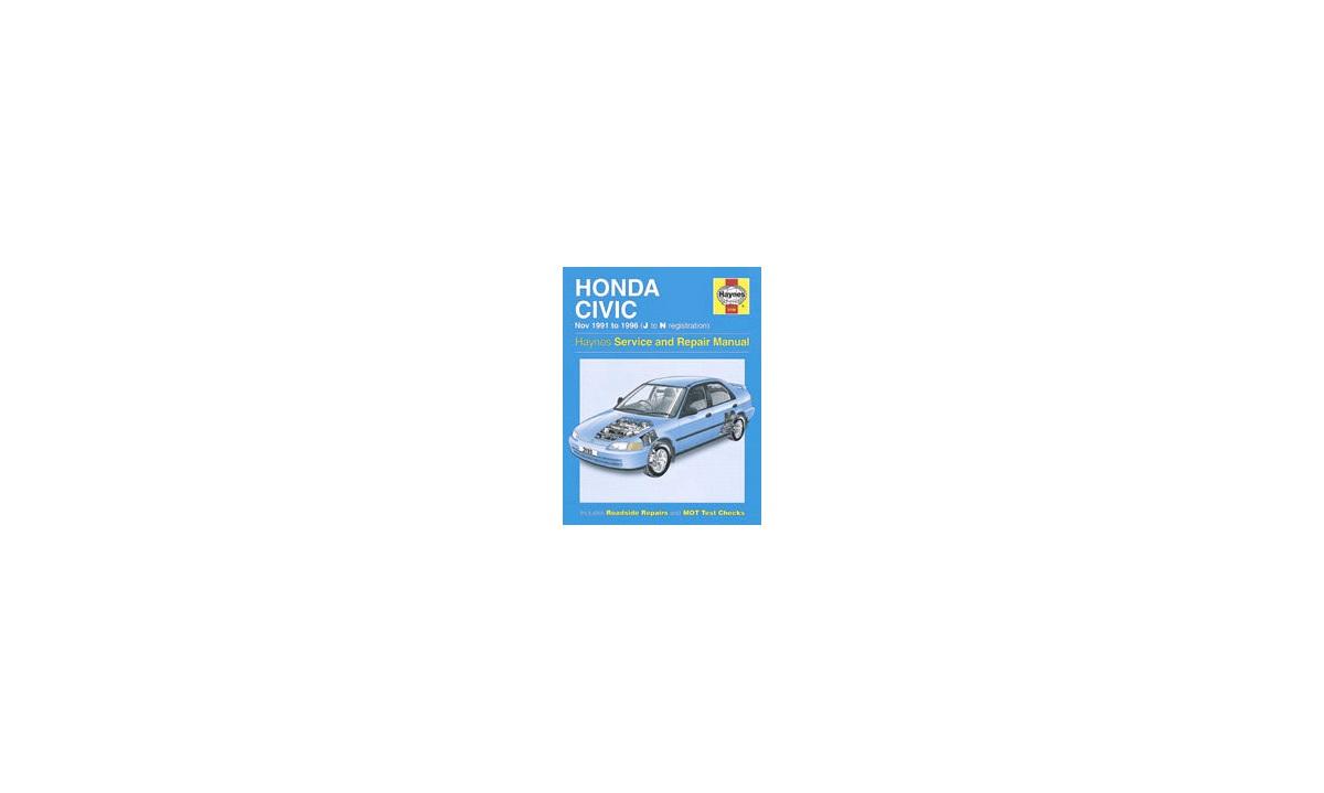 Rep.håndbok Civic 1,3-1,6 11/91-11/95