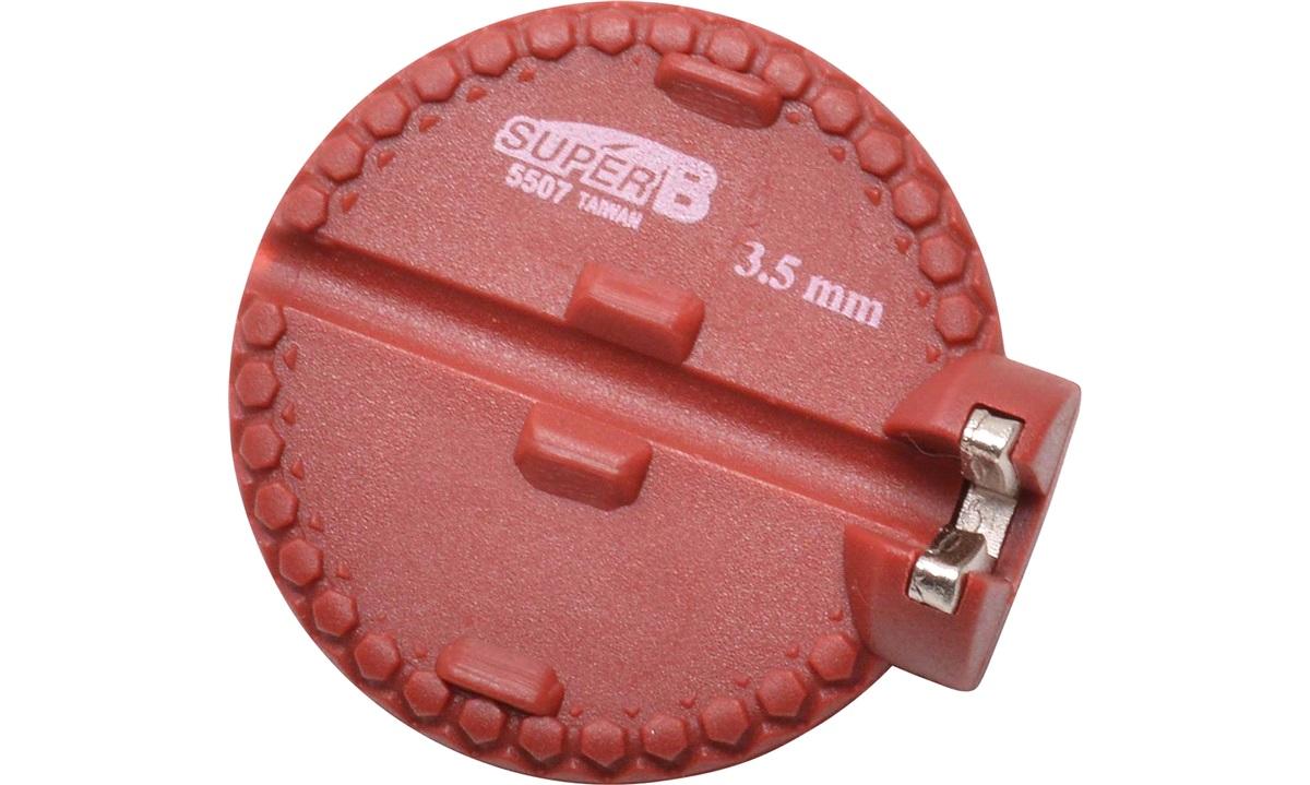 Nippelnøgle 3,5mm rød Super B tool