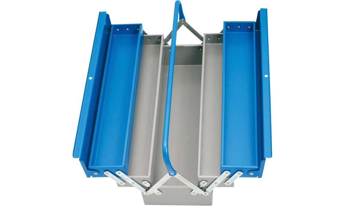 Unior værktøjskasse 5 rum 460x210x220mm