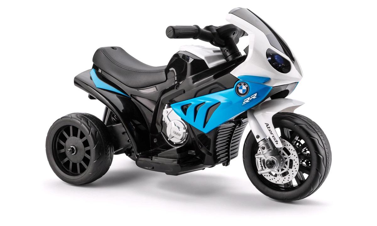 El-motorcykel til børn 6 V BMW blå S1000RR