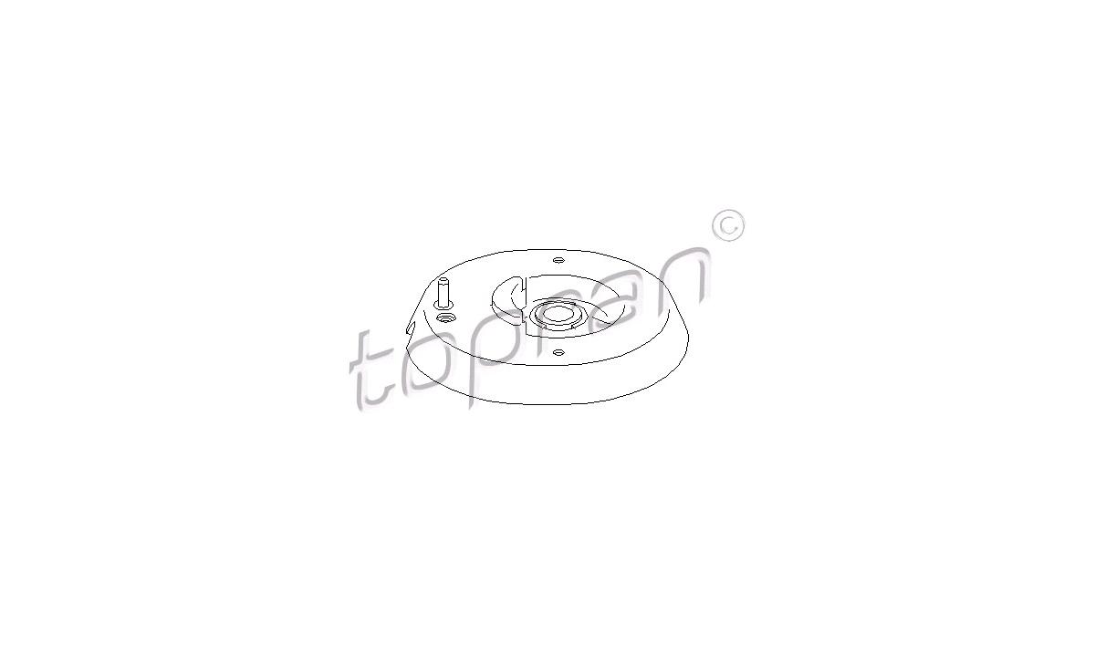 Støddæmperkonsol - (Topran)