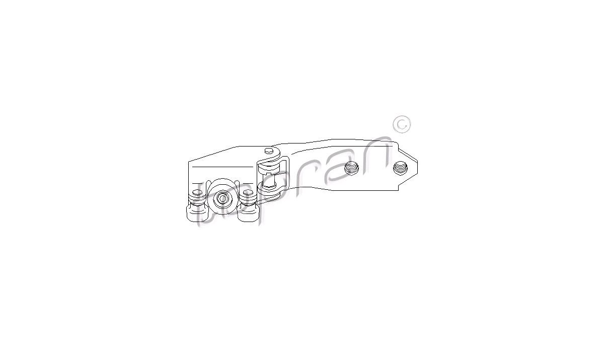 Rulleføring, skydedør - (OSSCA)