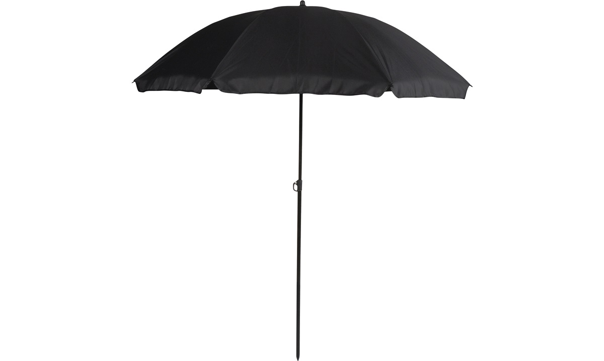 Parasol Sort Ø180xH190cm