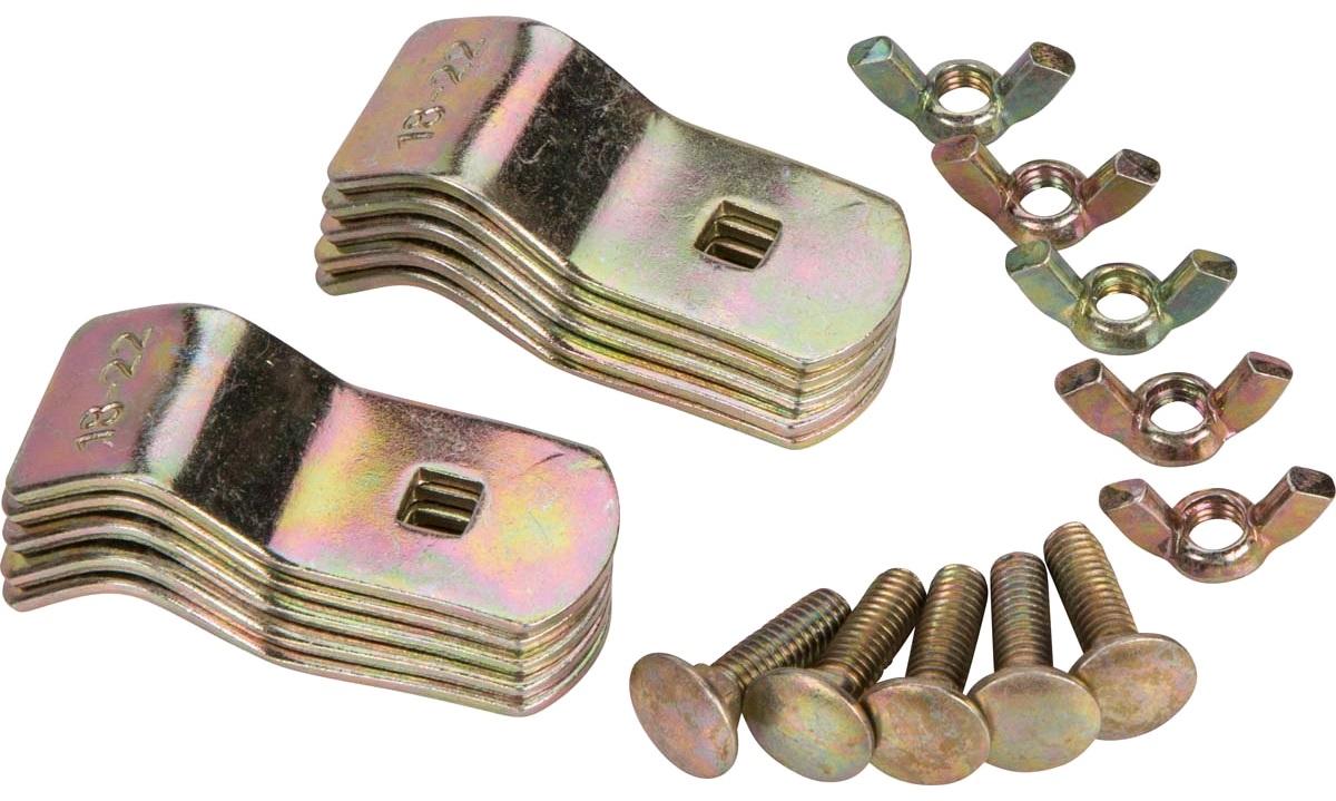 Teltstangsklemme: Ø 18-22 mm, 5 stk.