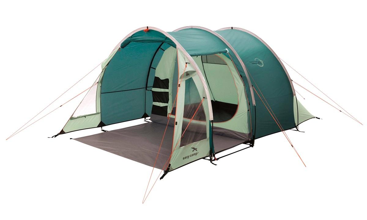 Telt, Easy Camp Galaxy 300 3-personers, Petroliums grøn