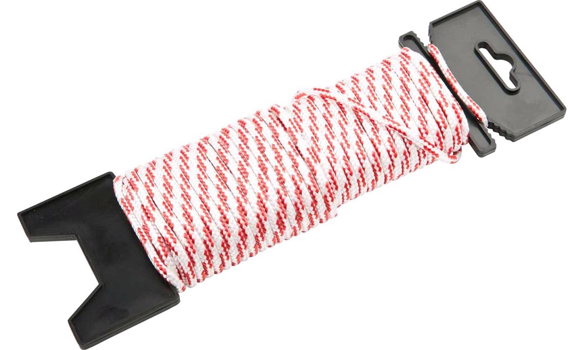 Snor flettet polyester, 20 M, Ø 4mm
