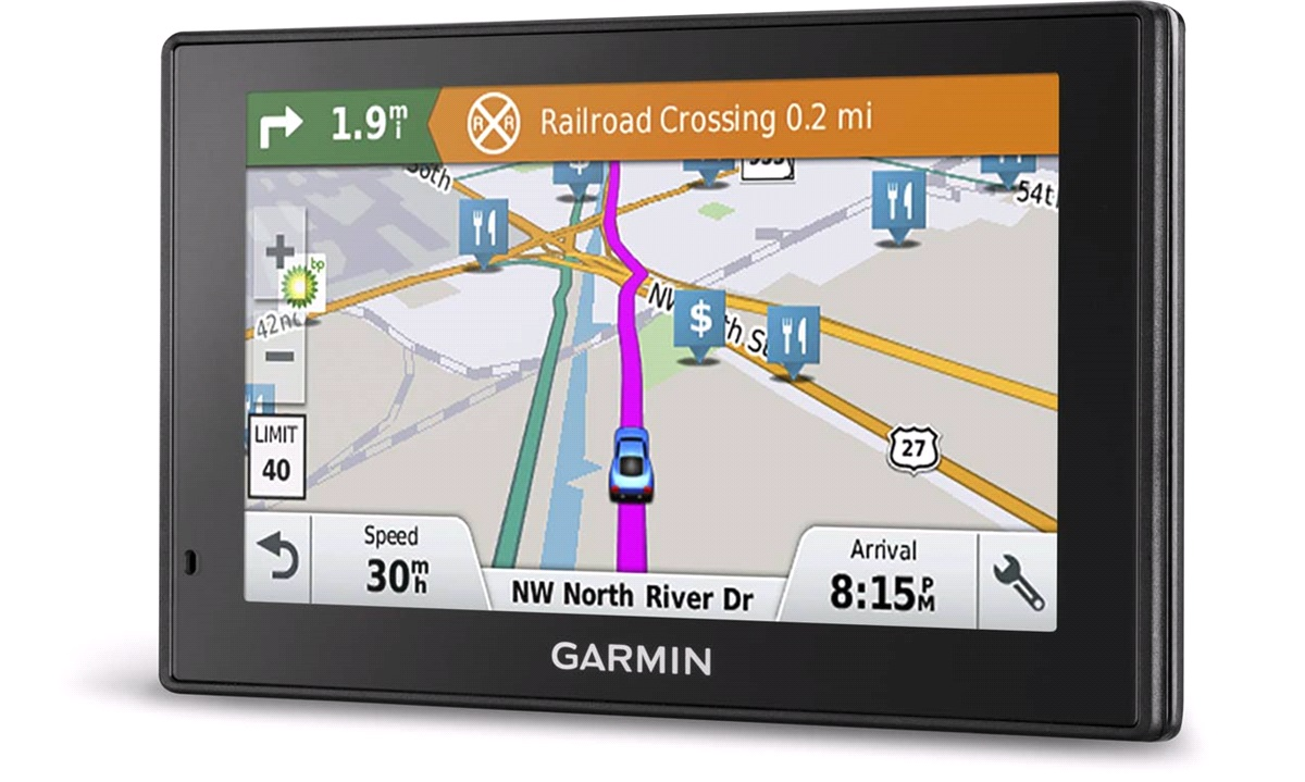 Navigation Garmin DriveSmart 51 LMT-S Vesteuropa