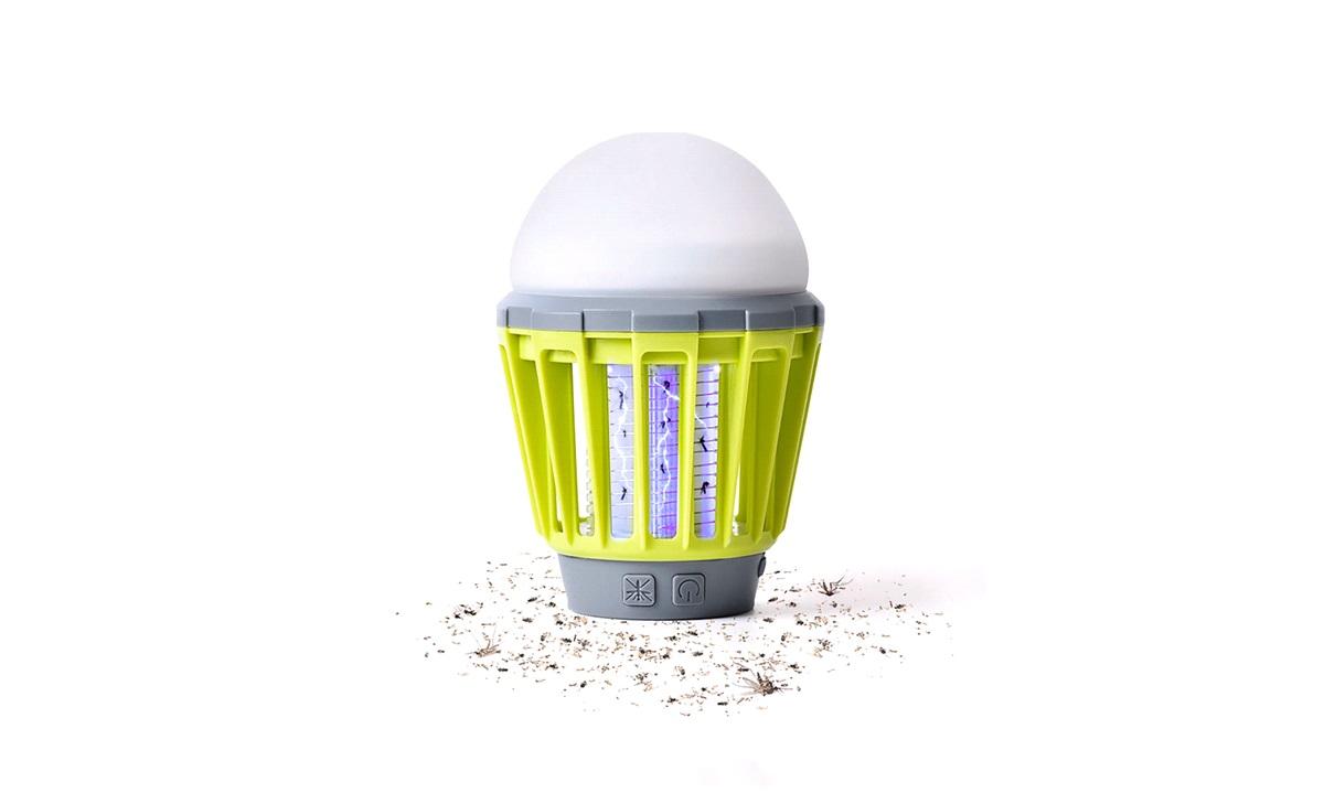 Insektlampe/myggedræber, genopladelig