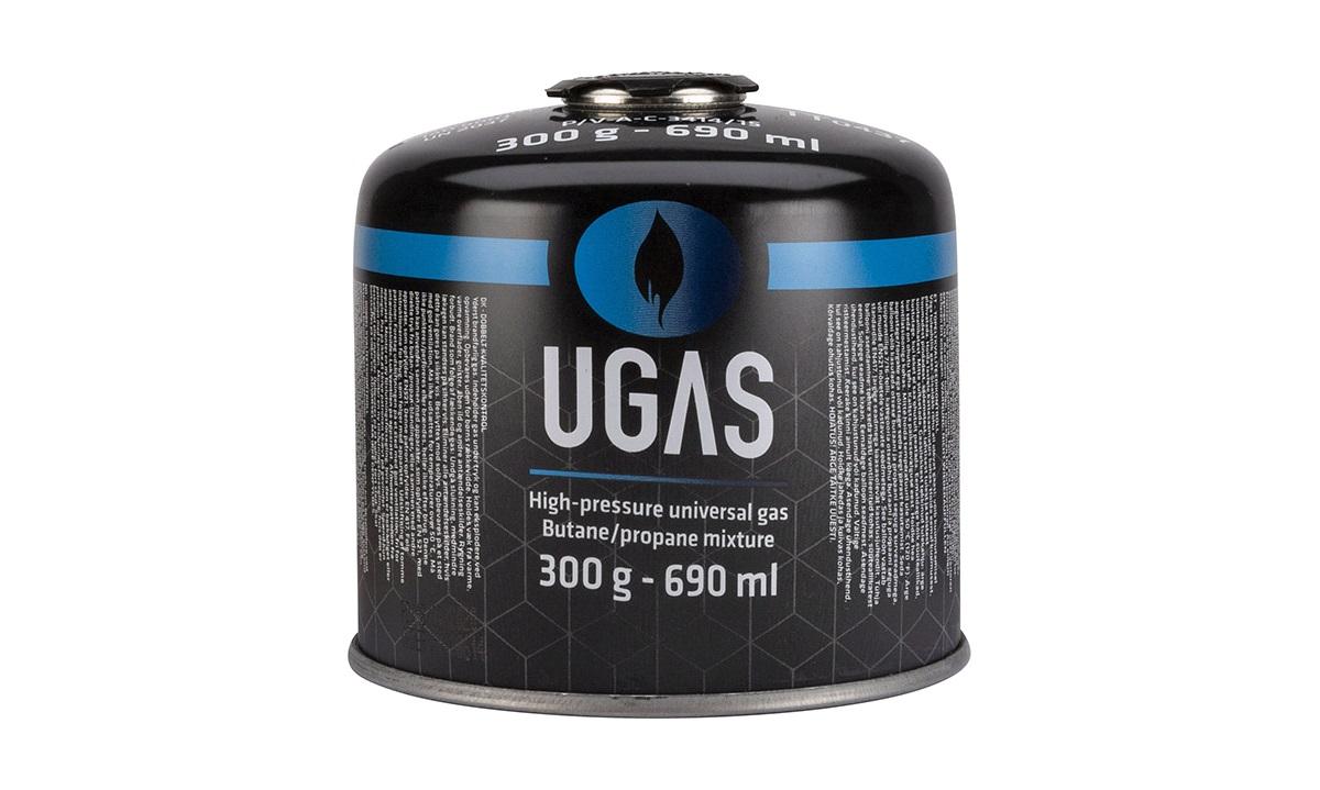 Gassflaske UGAS C300 m. gjengeventil