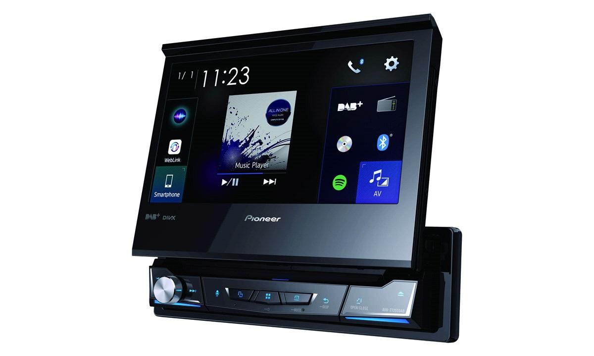 """Pioneer AVH-Z7200DABAN 1-DIN Flip-up 7"""""""