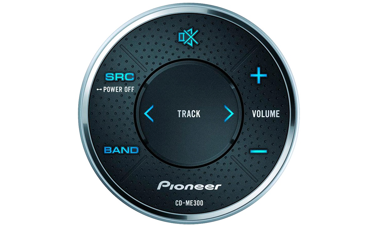 Pioneer Marine Wired Remote Control CD-ME300 IPX7