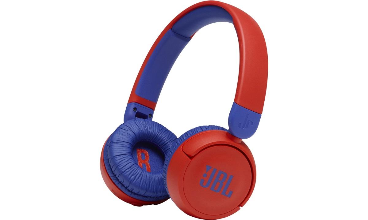 JBL Kids JR310 BT headphones Red/Blue