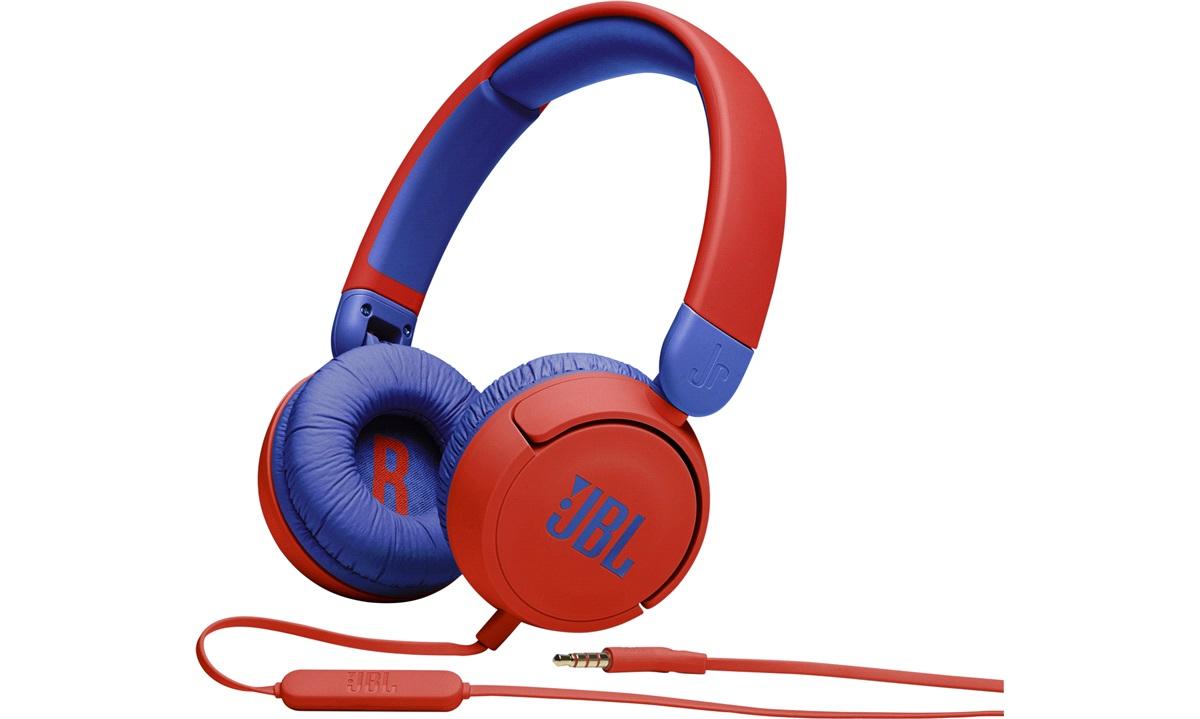 JBL Kids JR310 headphones Red/Blue