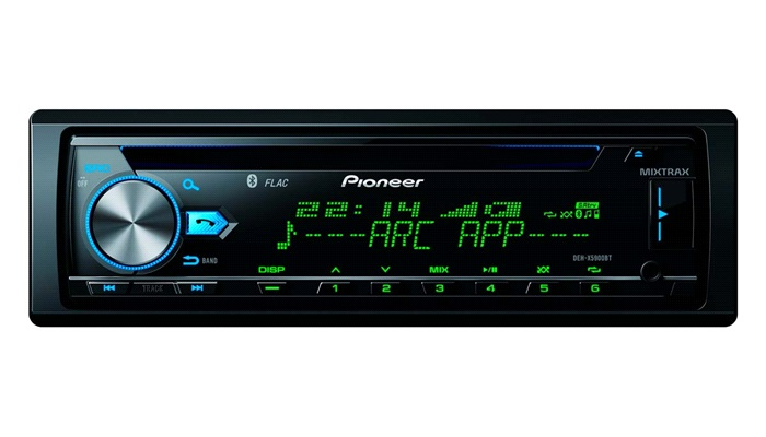 pioneer deh x5900bt cd mp3 usb iphone bt autoradio. Black Bedroom Furniture Sets. Home Design Ideas