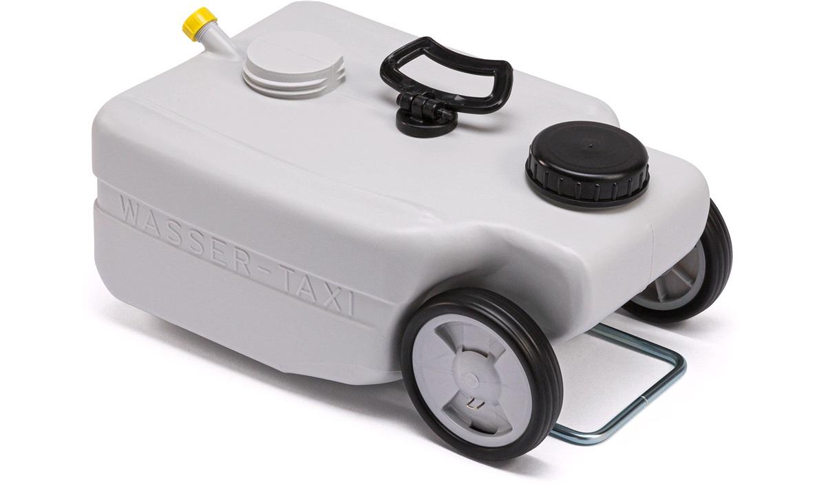 Avløpstank på hjul 25 liter