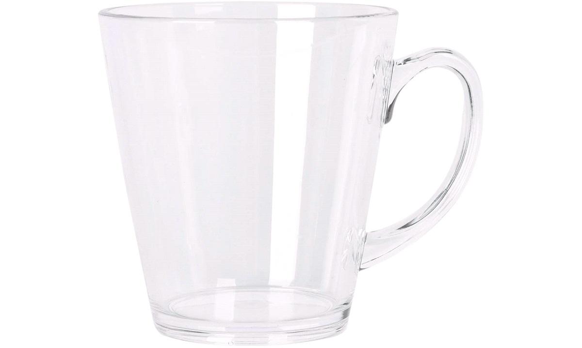 Kaffekopp i klar polycarbonat, 35cl.2stk