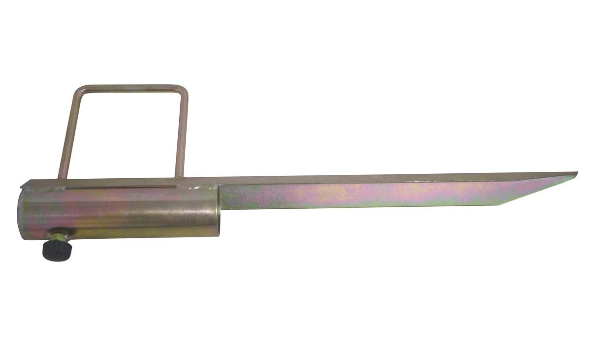 Pløkfod for tørrestativ/parasol/antenne