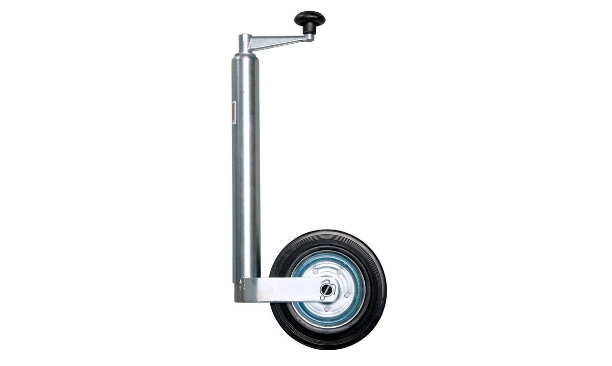 Nesehjul med massivt gummihjul Ø48mm